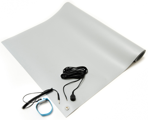 gray esd general purpose mat kit
