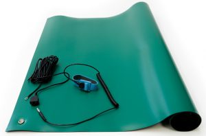 green esd high temperature mat kit