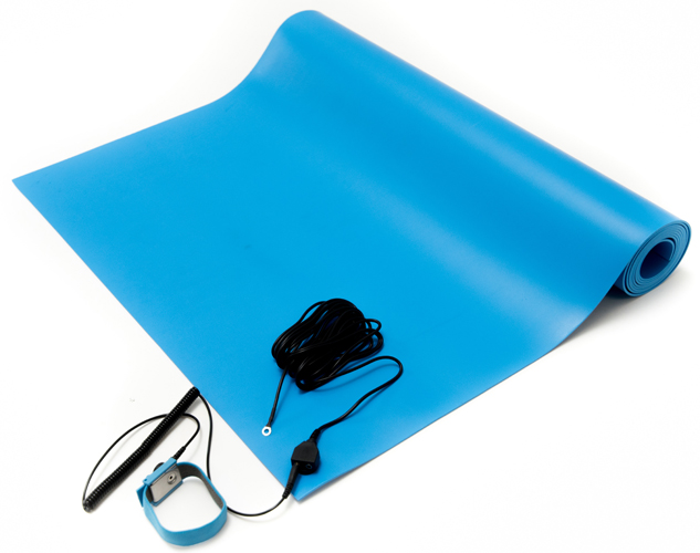esd mat kit blue